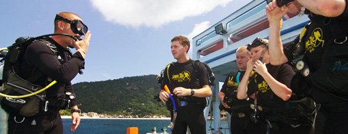 Divemaster Dive - Learn to give dive breifings