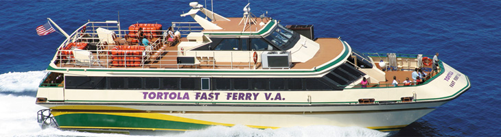 Fast Ferry to BVI